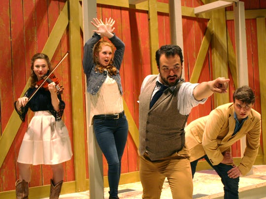 """Carey Dinner Theatre presents """"Country Is: The Music of Main Street,"""" featuring Tessa Flesher, Emily Oliver, Ben Salters and Joey Parker."""