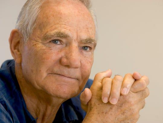 Former ASU football head coach Frank Kush at Sun Devil
