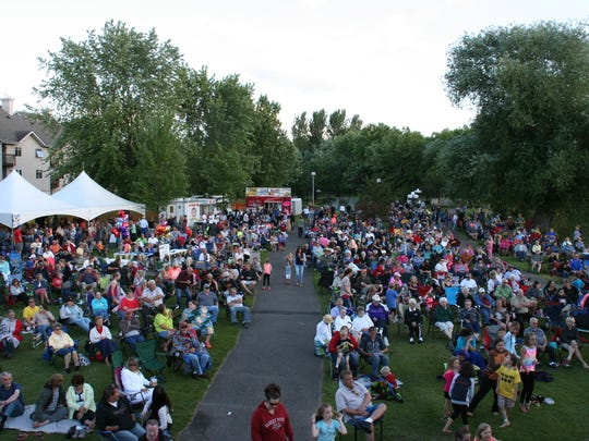 Rock the Park brings live music, art and food to