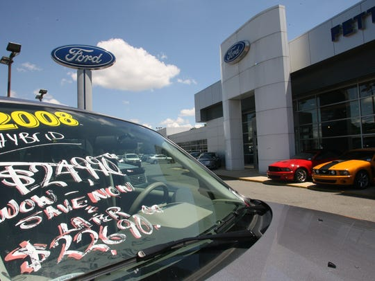 Used cars for sale at  Fette Ford  in Clifton.