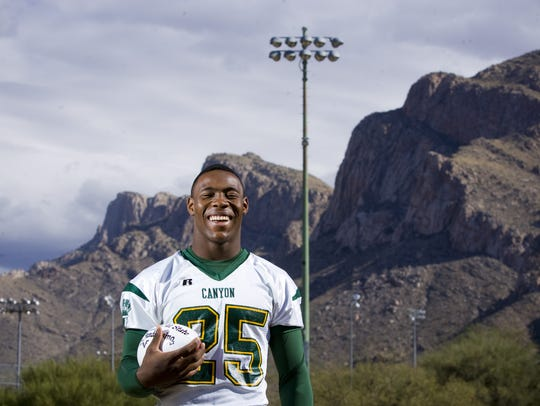 Ka'Deem Carey was a star at Oro Valley Canyon del Oro