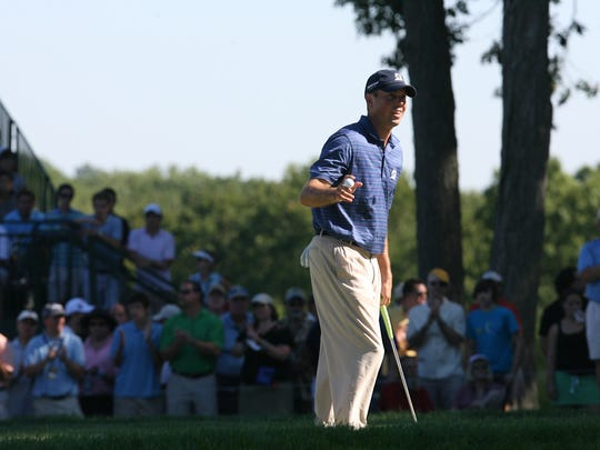 Matt Kuchar won the 2010 playing of the PGA Tour event at Ridgewood Country Club in Paramus.