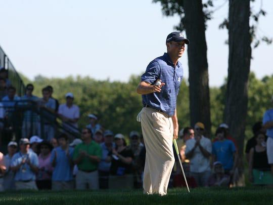 Matt Kuchar won the 2010 playing of the PGA Tour event