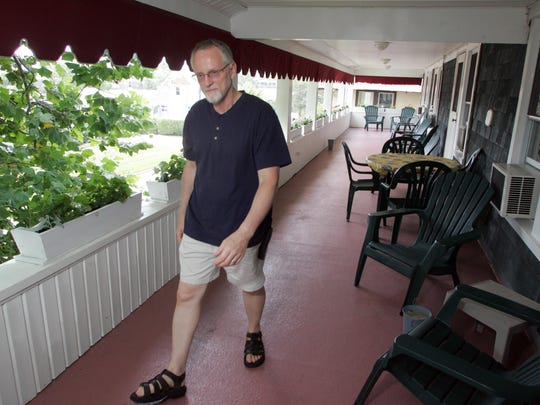 Glenn Kithcart is the innkeeper at the Bentley Inn in Bay Head.