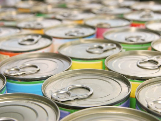 many ring-pull cans