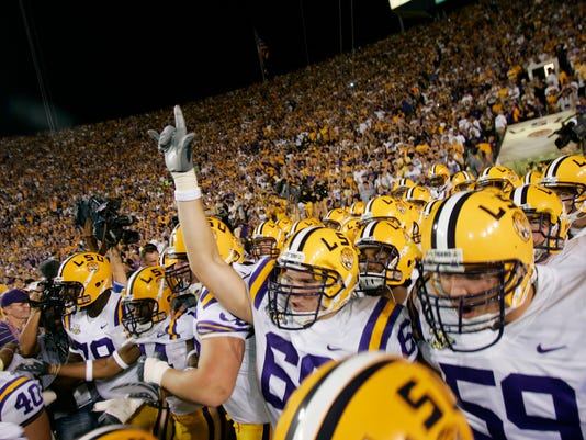 NCAA Football: Florida at LSU