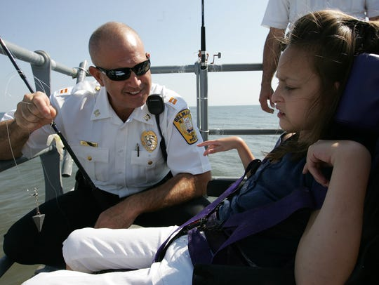 Andrew Huisman, a Belmar police captain at the time,