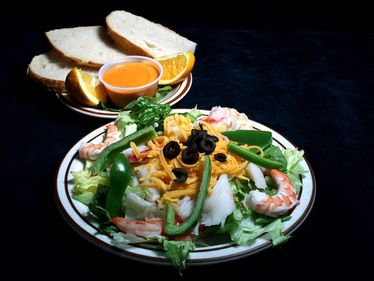 Loaf & Jug's signature salads, such as the Seafood