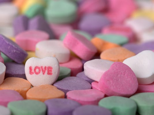 Valentines Day Candy Hearts I