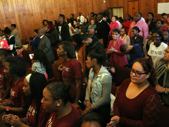 The annual 'Youth Got Talent' event in 2017 drew a packed crowd to Ebenezer Church of God in Christ in Fremont. The event will be held again this year on Sunday at the church.
