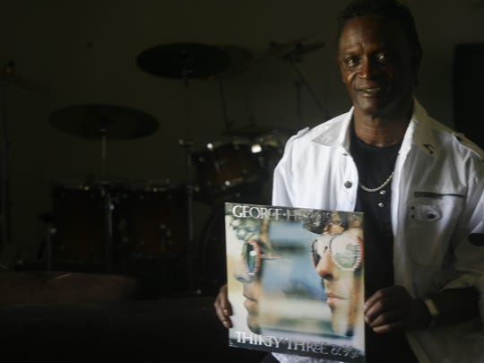 Drummer Alvin Taylor, who was born and raised in Palm