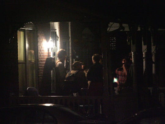 University of Delaware students drink at house parties near Cleveland Avenue in Newark in 2008.