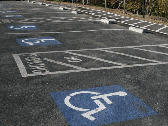 The accessible spaces are needed for individuals with