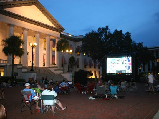 "Bring a picnic and spend a ""Night at the Museum"" at the Historic Capitol lawn on Friday."