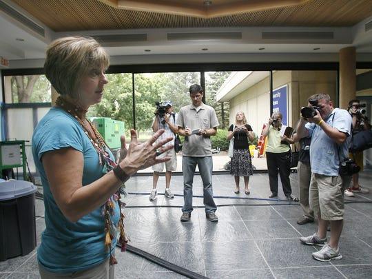 Interim Director of the UI Museum of Art Pam White