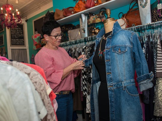Denise Brady Acanfora owns The Urban Exchange. Her Point Pleasant Beach shop carries consignment designer goods for all age groups.