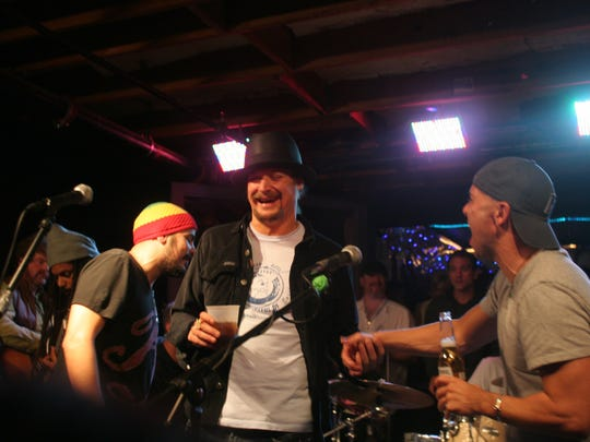 Kid Rock, pictured in 2008, performing at Tootsie's
