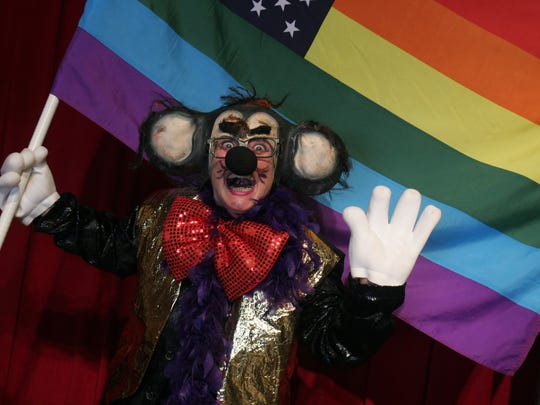 Mickee Faust (aka writer-performer Terry Galloway)