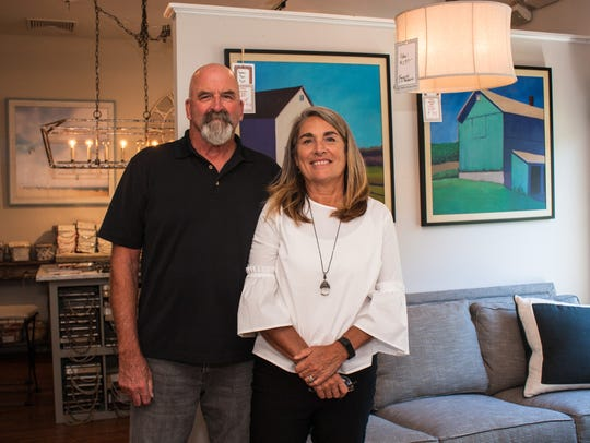 Owners Tim and Mara Nefke of The Store From River Road