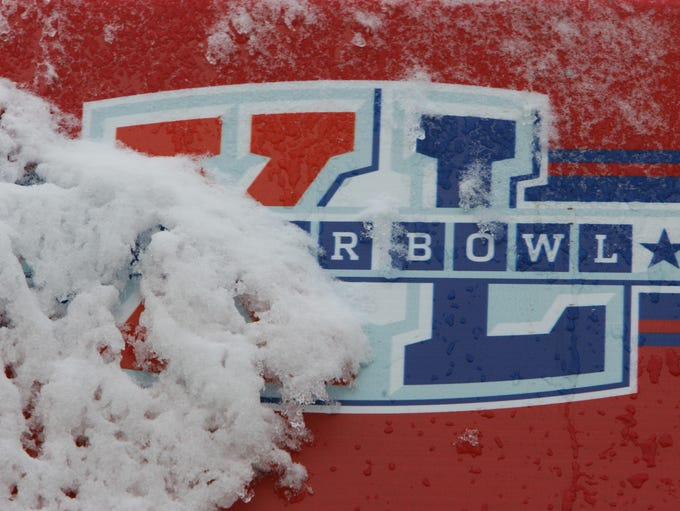 The past 10 years saw the snowiest Super Bowl (Detroit