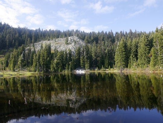 Bigelow Lake would become part of the Oregon Caves