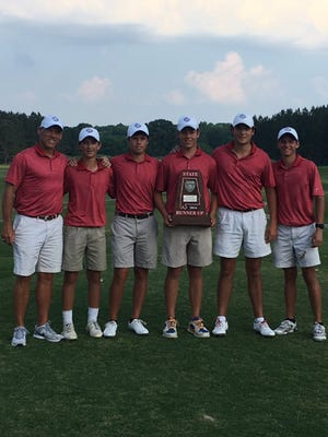 The Trinity boys golf team finishes runner-up in Class 4A state golf tournament