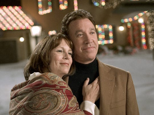 "Tim Allen and Jamie Lee Curtis star in the holiday comedy ""Christmas with the Kranks."""