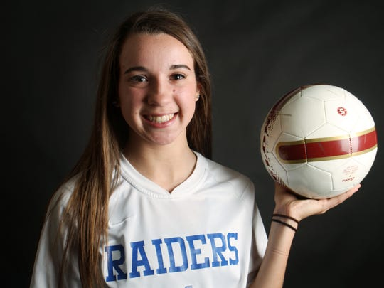 The Courier News Girls Soccer Player of the Year is Tori Baliatico of Scotch Plains-Fanwood.