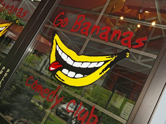 Go Bananas Comedy Club.