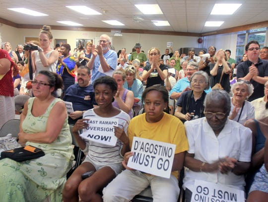 East Ramapo parents and students pack a school board