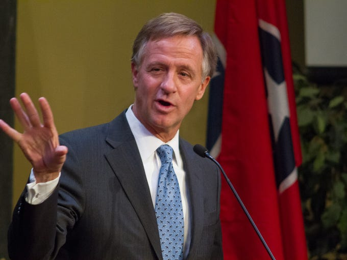 Gov. Bill Haslam is the keynote speaker at the Madison