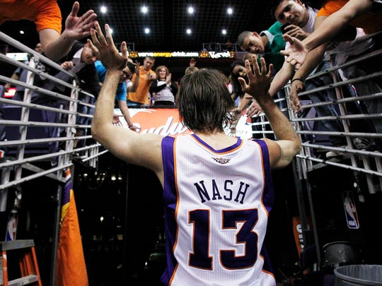 Two-time Most Valuable Player Steve Nash, who played