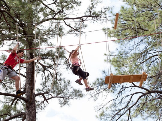 The Flagstaff Extreme Adventure Course is a series