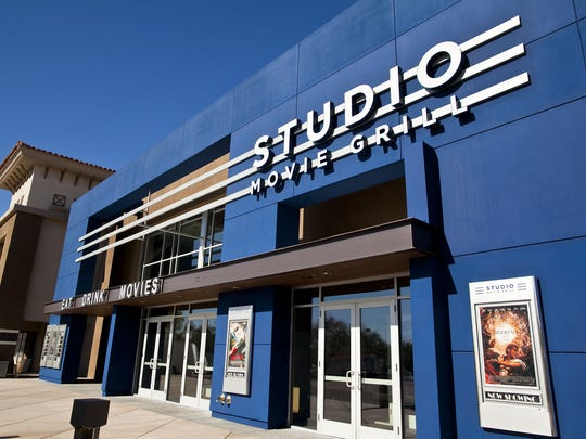 Exterior of the Studio Movie Grill in Scottsdale.
