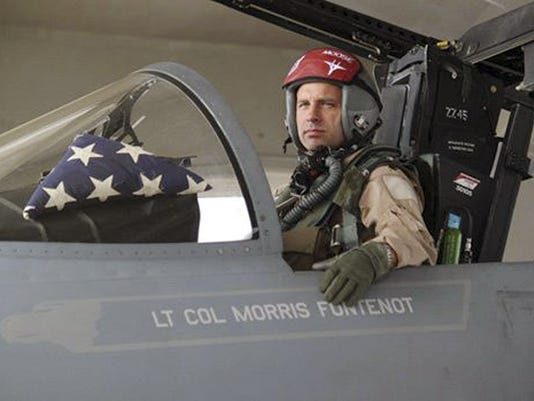"""Lt. Col. Morris """"Moose"""" Fontenot Jr."""
