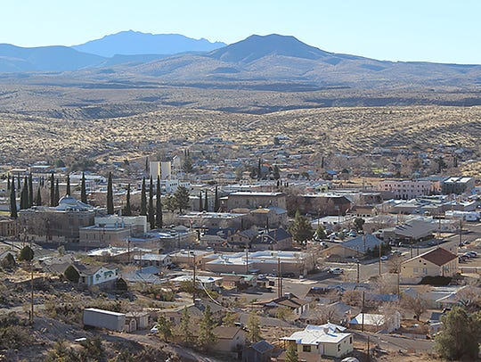 The Nevada Test Site is about 150 miles north of Kingman,