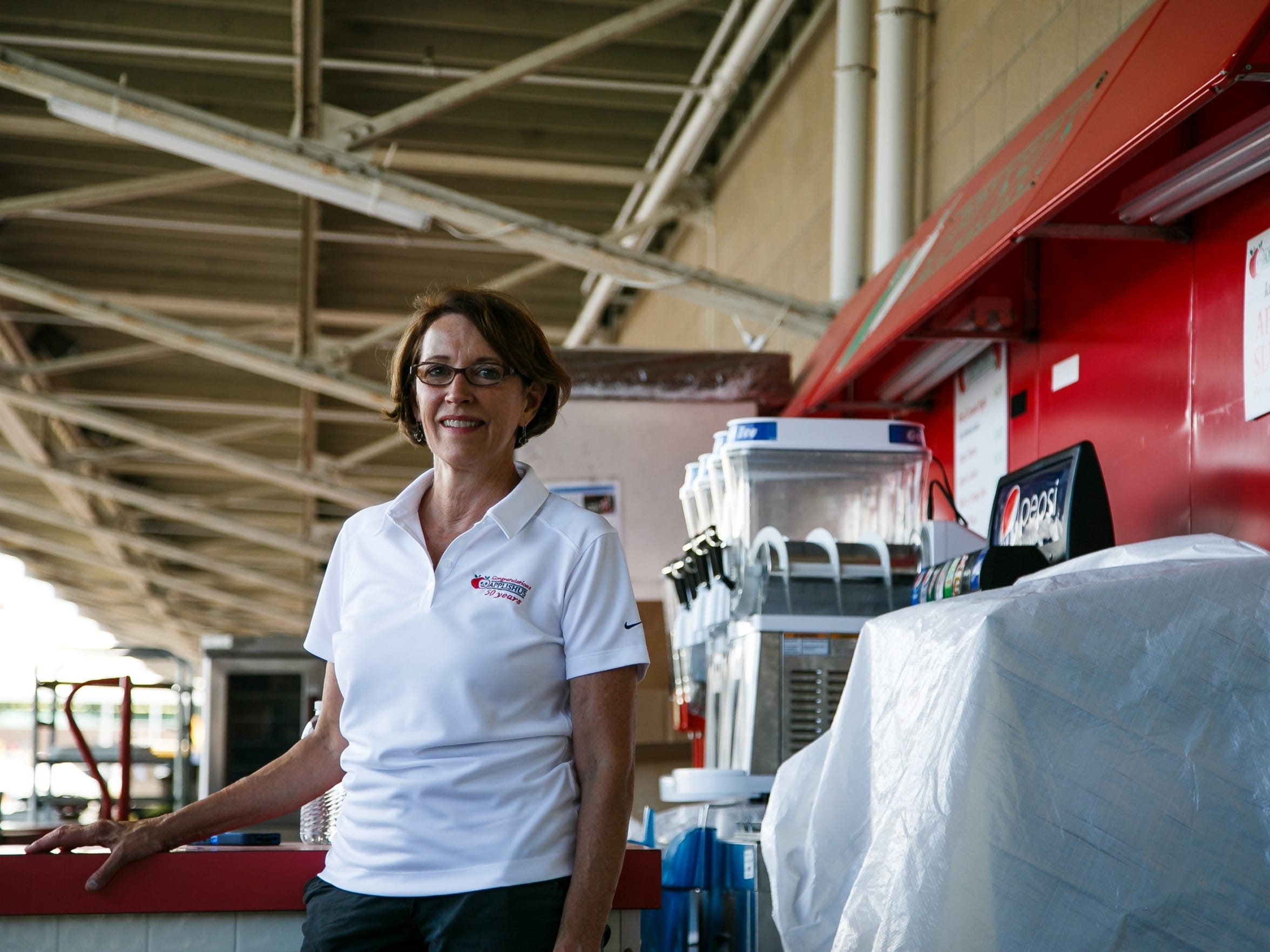 Connie Boesen has been working at the State Fair for