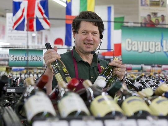 \Dana Malley, of Ithaca, is the general manager of Northside Wine and Spirits in Ithaca. The store opened in 1959 and carries a wide selection of Finger Lakes wine alongside a broad range of other products.