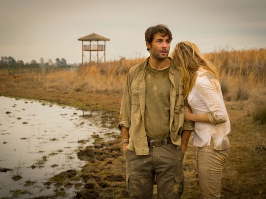 """Metro Detroit native James Wolk and Nora Arnezeder star in the CBS thriller """"Zoo,"""" about to end its first season. The series is based on a best-selling book by James Patterson."""