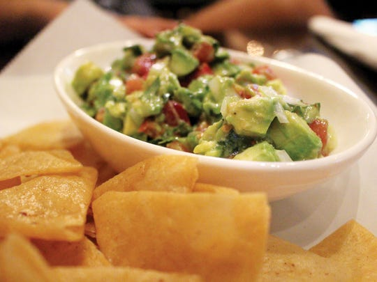 Fresh guacamole comes with just-fried tortilla chips at Lapa's Costa Rican Bistro in Bonita Springs.