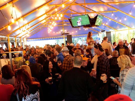 at the Adventureland Oktoberfest event on October 3,