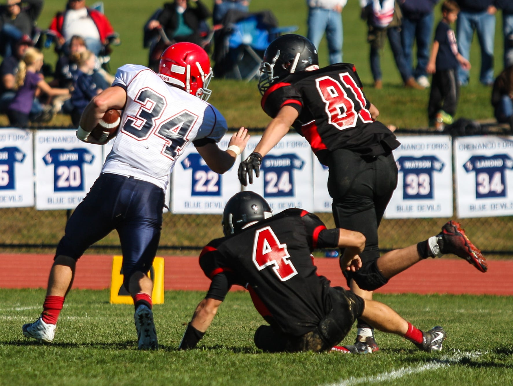 Chenango Forks defeated host Newark Valley, 34-21, on Saturday, Oct. 10.