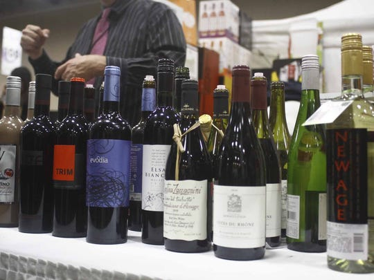 A wide variety of wine will be on hand at the Iowas Premier Beer, Wine & Food Expo at the Iowa Event's Center on Nov. 9-10 in Des Moines. JOSH HARRELL/SPECIAL TO JUICE