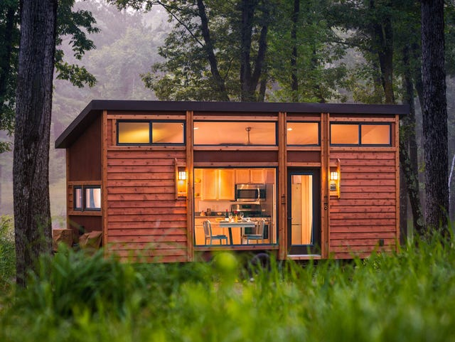 Live large in tiny houses on wheels on
