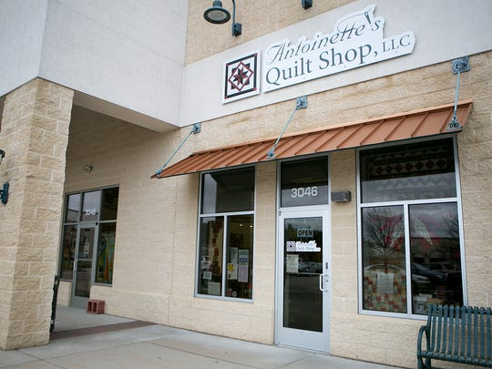 Antoinette's Quilt Shop is located at 3046 Village Park Drive in Plover, Thursday, Oct. 29, 2015.