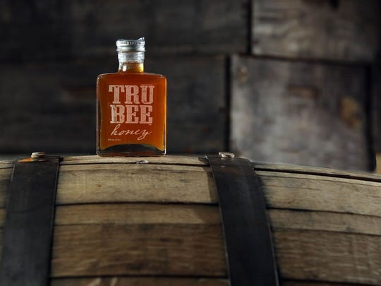 TruBee Honey's barrel-aged honey is a popular item during the holidays.