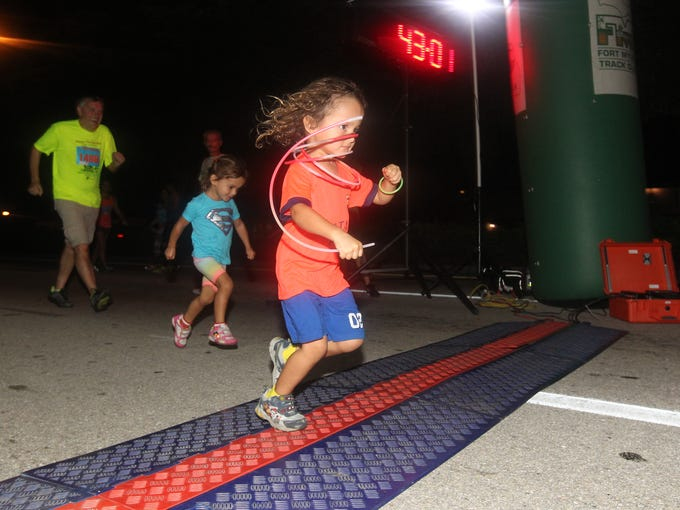 Scenes from the Veterans 5K, held in Fort Myers Wednesday.