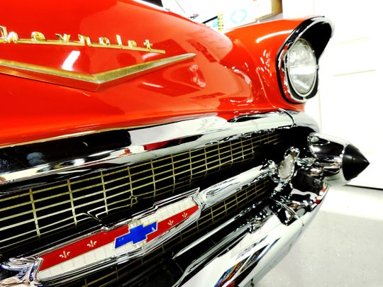 A 1957 Chevy BelAir at Premier Motorcars.