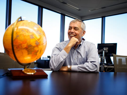 """""""We look at Jeff and we admire what he packed into 36 years,"""" Principal CEO Larry Zimpleman said of his son who traveled to 30 countries during his lifetime. The Zimpleman family is starting a scholarship with Iowa Sister States in the hopes of helping young adults travel more."""