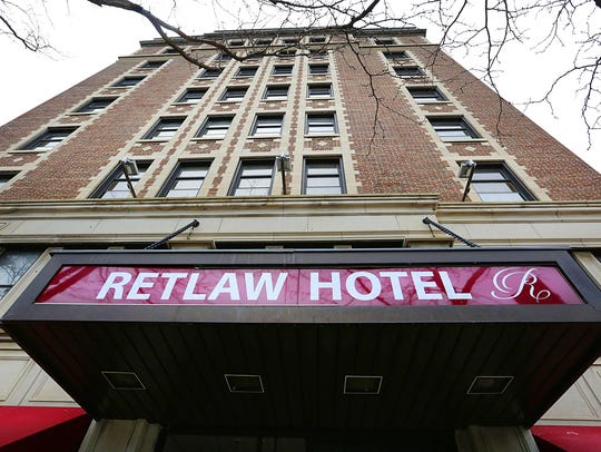 A potential buyer has come forward for the Retlaw Plaza